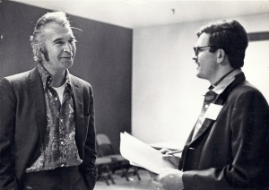 Dave Brubeck and Monty at the 1971 Hampton Jazz Festival