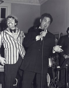 Peter Decker and Monty perform their Martin and Lewis comedy routine
