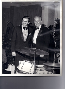 Monty appears with Bob Crosby at a convention gala