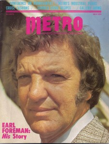 Metro Cover - Earl Foreman