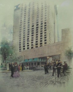 The New Orleans Hilton in 1983