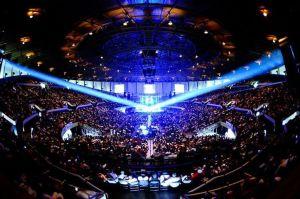 Hampton Coliseum indoors