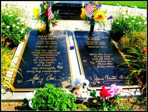 Gravesite in Hendersonville, TN