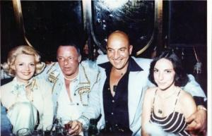 Frank Sinatra and Telly Savalas