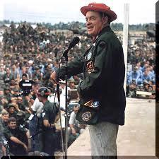 Bob Hope at USO show