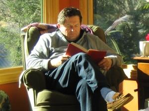 Monty Joynes reading