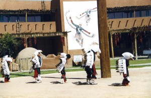 Pueblo Indians share their culture in New Mexico