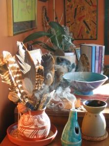 Smoky table