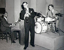 Mel Torme with Benny Goodman and Teddy Wilson