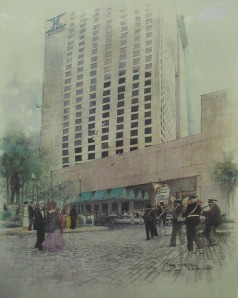 New Orleans Hilton in the late 70s