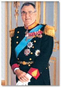 The Prince Consort Henrik of Denmark