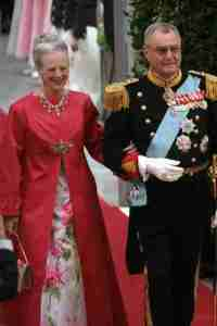 Queen Margrethe and Prince Consort Henrik of Denmark