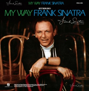 Frank Sinatra My Way cover with cigarette