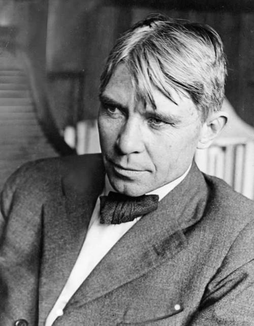 Carl Sandburg bw National Park Service