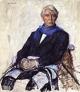 Carl Sandburg portrait