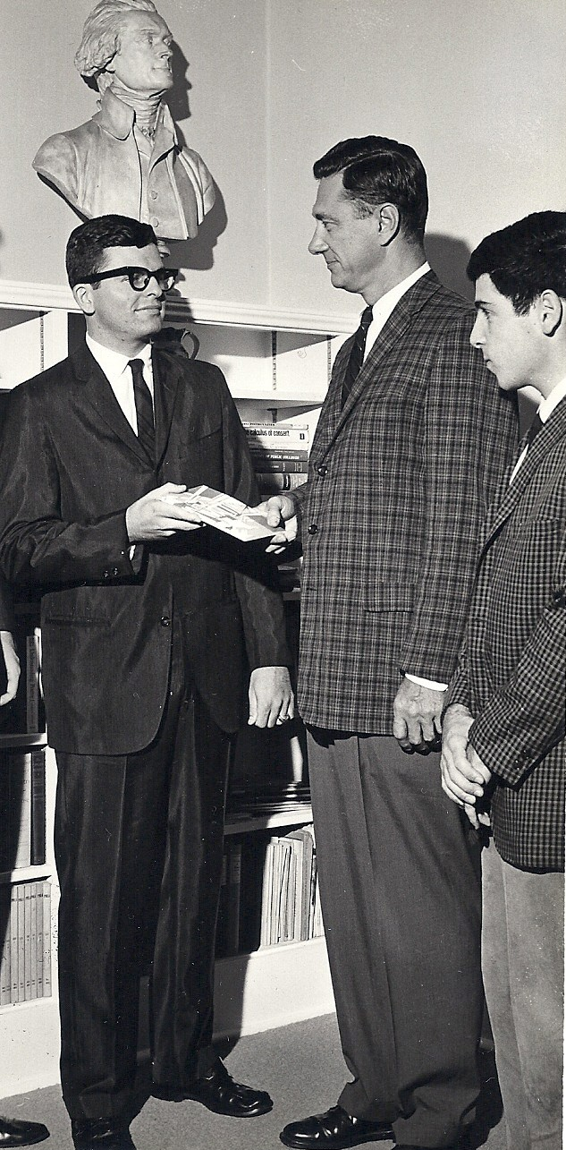 Monty and Bob in 1963